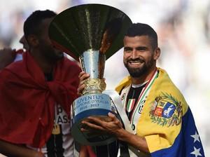 Setengah Musim di Juventus, Rincon Incar Trofi Ketiganya