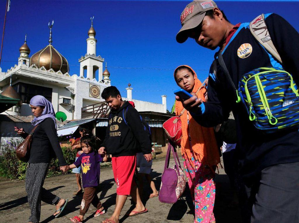 Darurat Militer di Filipina, Ribuan Warga Dievakuasi