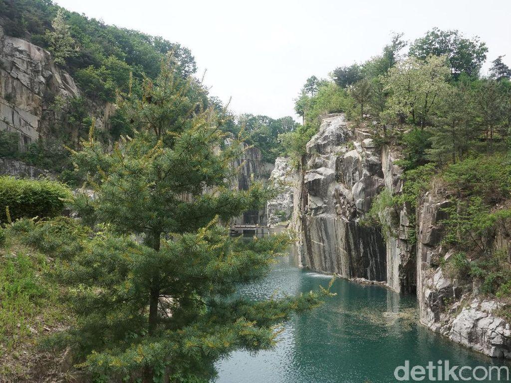 Foto: Cantiknya Danau Cheonjuho, Lokasi Syuting K-Drama Lee Min Hoo