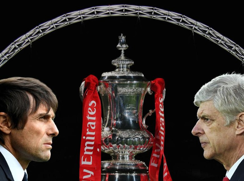 The Gunners vs The Blues di Final Piala FA