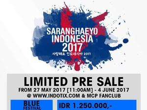 Siap Berburu! Tiket Pre Sale Saranghaeyo Indonesia Dijual Mulai Rp 500 Ribu
