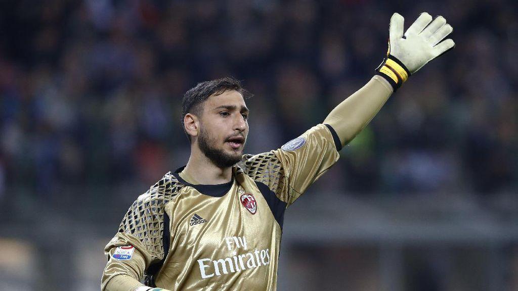 Ancaman Milan pada Donnarumma Dibantah
