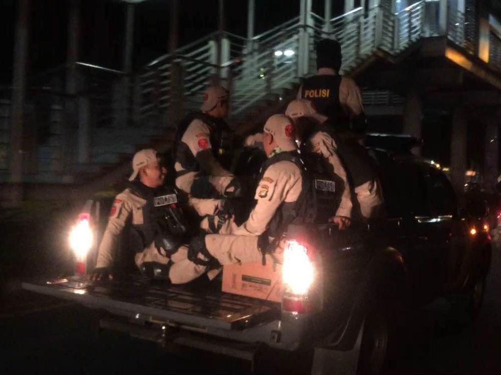 Aksi Tim Rajawali Bubarkan Tawuran di Kalimalang