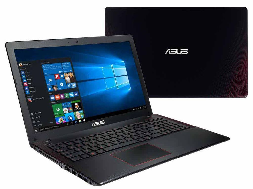 Asus X550IU, Laptop Gaming Pertama Bertenaga AMD Polaris