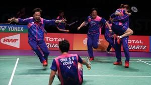 Inilah Kunci Sukses Korea Tundukkan China di Final Piala Sudirman