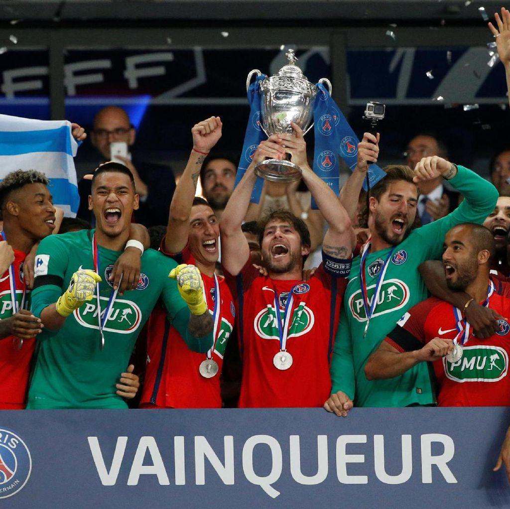 PSG Akhiri Musim dengan Gelar Juara Piala Prancis