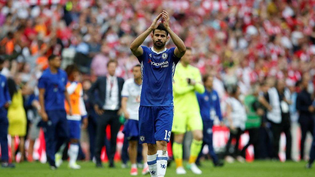 Rumor ke China, Costa Sebut Nyaman di Chelsea