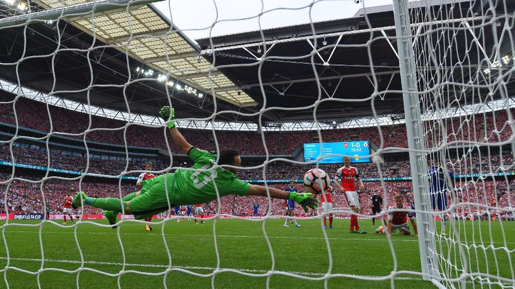 Gol Diego Costa yang Sempat Bikin Arsenal Khawatir