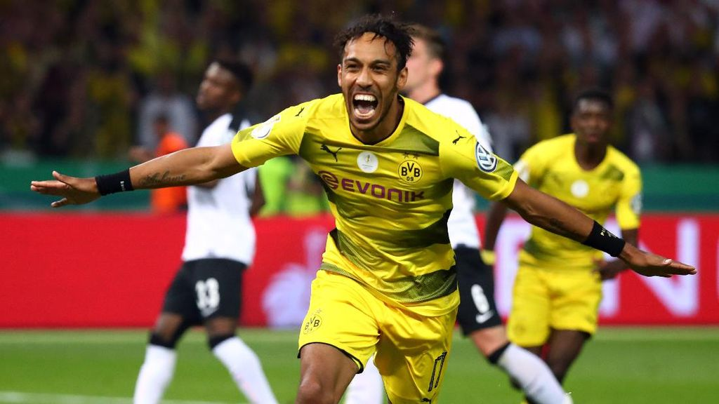 Atasi Eintracht Frankfurt, Dortmund Juara DFB-Pokal
