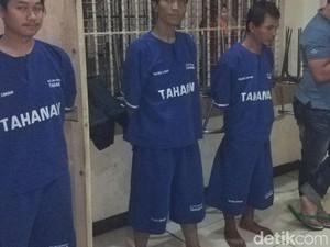 Pesta Ganja di Bojongsoang, Tiga Pria Diringkus Polisi