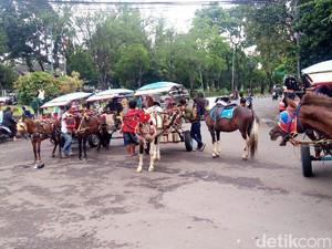 Jasa Delman di Bandung Laris Manis saat Ngabuburit