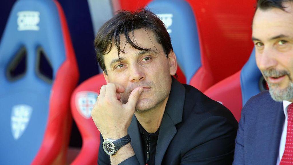 Montella Kecewa Milan Tutup Musim dengan Kekalahan