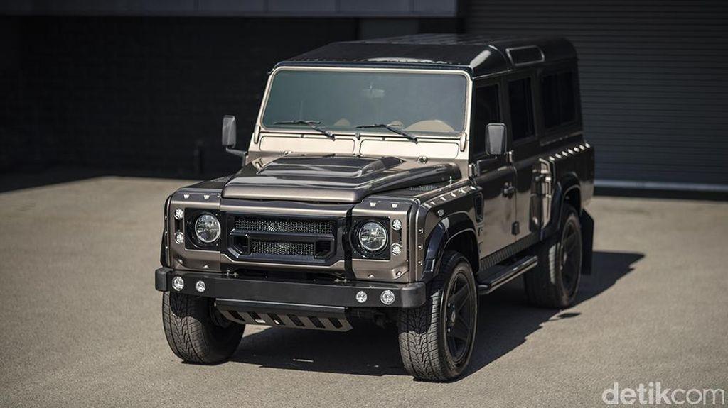 Land Rover Defender yang Makin Mewah