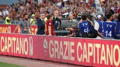 Arrivederci, Totti!