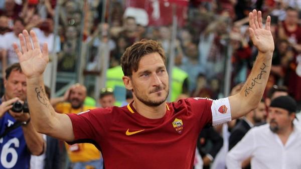 Sergio Ramos: Totti Jelas Ada di Daftar Pemain Terbaik Sepanjang Masa