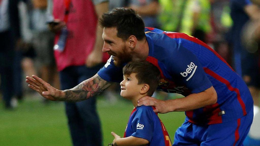 Sepatu Emas Eropa Milik Messi