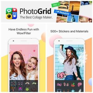 Jadi Aplikasi Viral, PhotoGrid <i>Update</i> 500 Stiker Per Hari