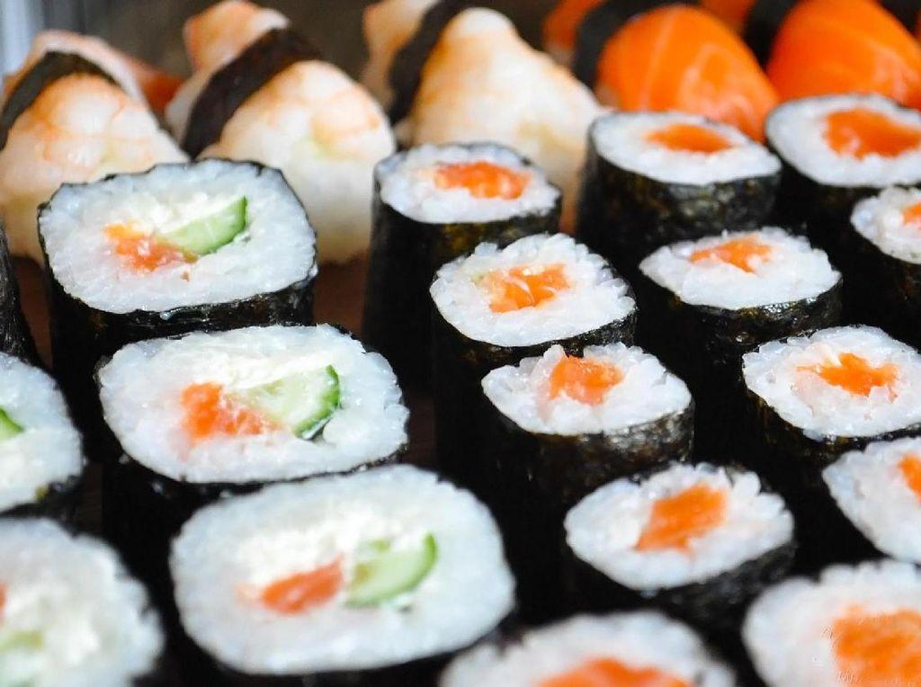 Mengenal Makizushi, Sushi Gulung dengan Ragam Bentuk dan Isian Nikmat