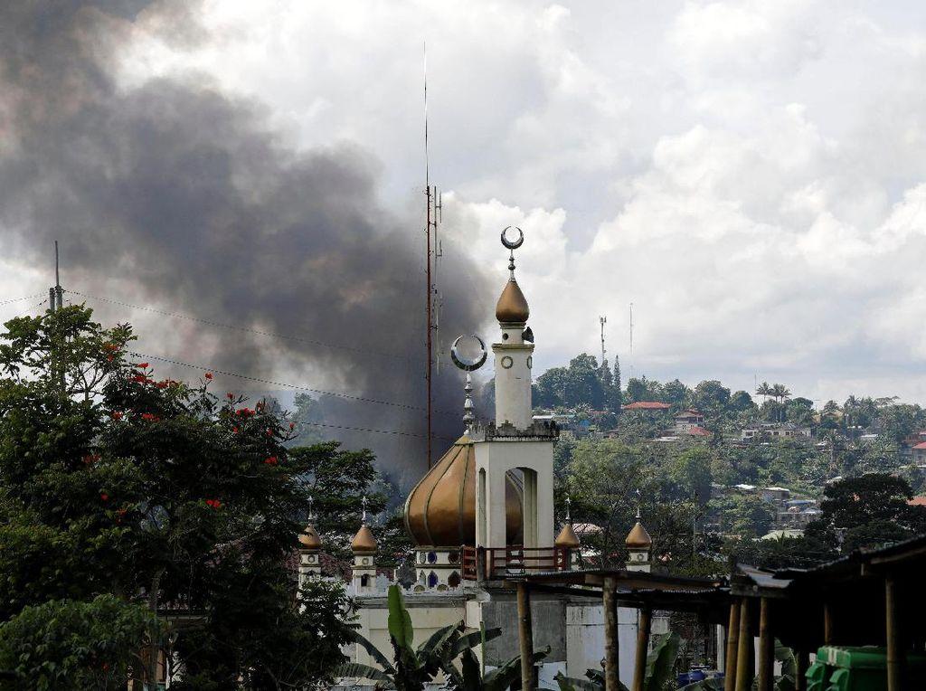 Singapura Tawarkan Drone ke Filipina Untuk Perangi Militan Marawi