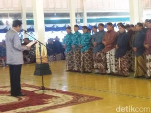 Sri Sultan HB X Kukuhkan Jaga Warga