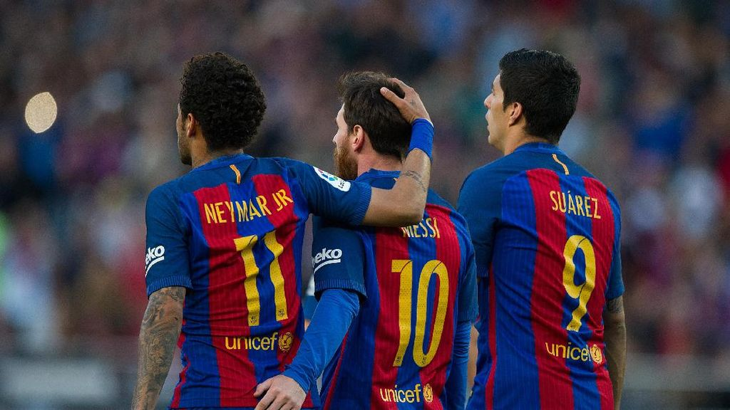 Messi, Suarez, dan Neymar: Terima Kasih, Luis Enrique!