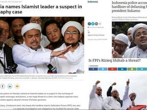 Kasus Habib Rizieq Shihab Menyita Perhatian Media Internasional