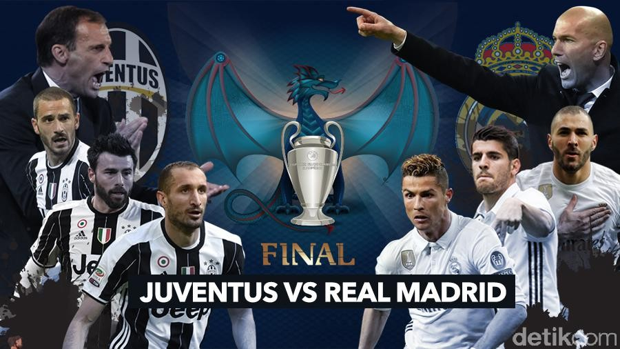 real madrid vs juventus online