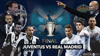 Juventus vs Real Madrid, Siapa Jadi Raja Eropa?