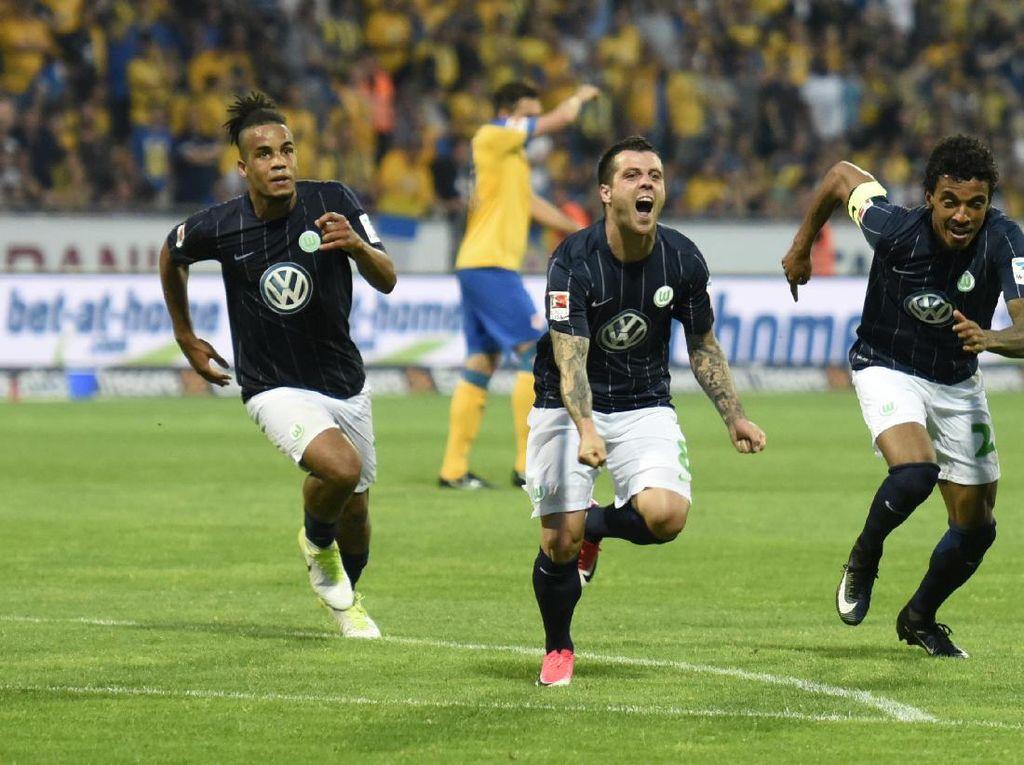 Wolfsburg Bertahan di Bundesliga Usai Sisihkan Braunschweig