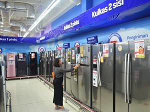 Aneka Promo Kulkas Berbagai Merek di Transmart dan Carrefour