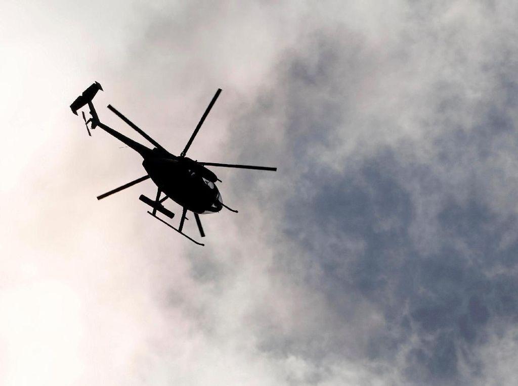 Helikopter Militer AS Mendarat Darurat di Halaman Hotel di Jepang