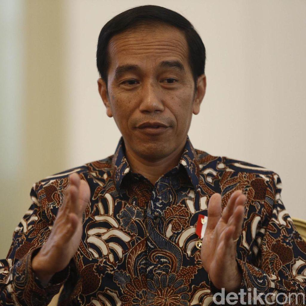 Saksikan Blak-blakan Presiden Jokowi di detikcom Rabu Besok