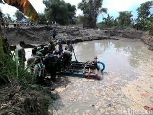 Galian C Ilegal di Jombang Ditutup Paksa Petugas Gabungan