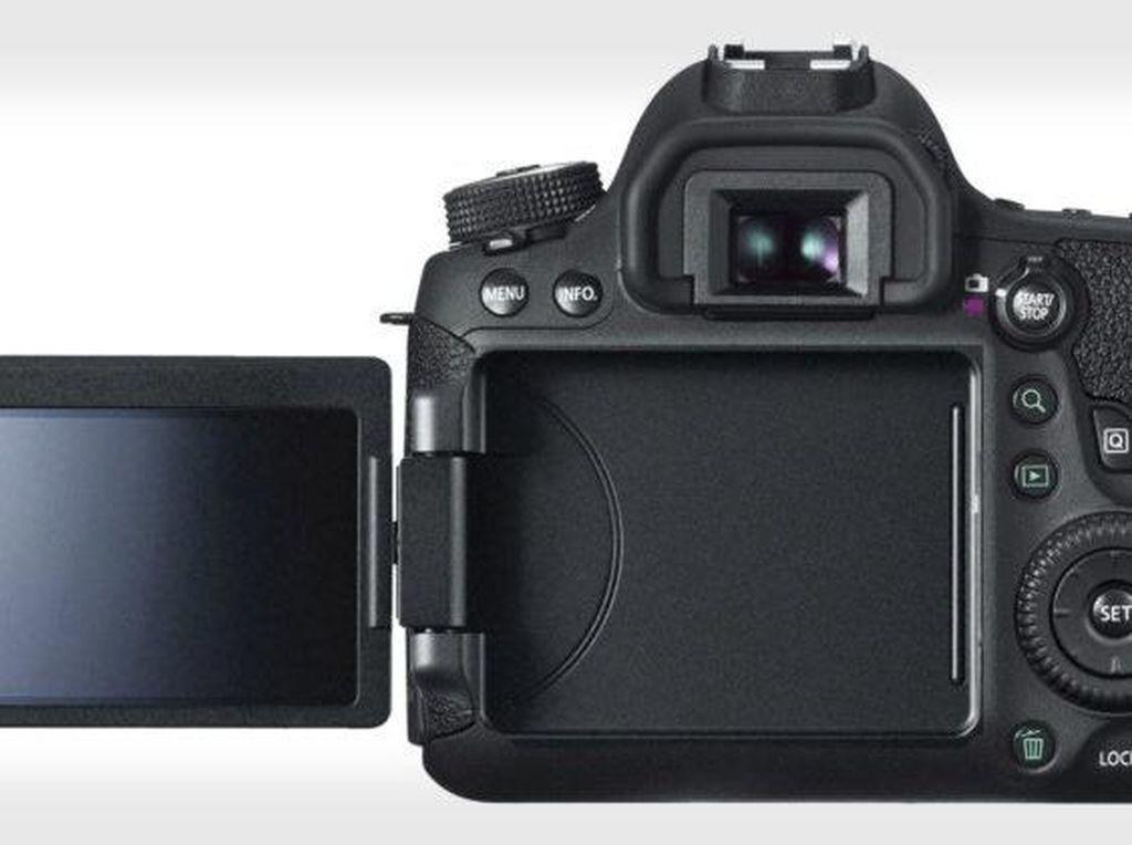 EOS 6D MK II Pakai Layar yang Bisa Dilipat?