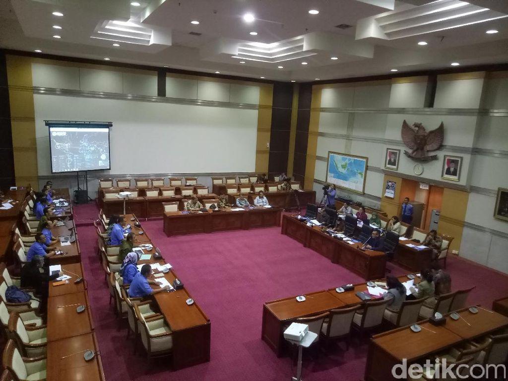 Komisi I DPR Rapat dengan Menkominfo Bahas Ransomware WannaCry