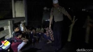 8 Anak di Bawah Umur Sedang Pesta Miras Diamankan