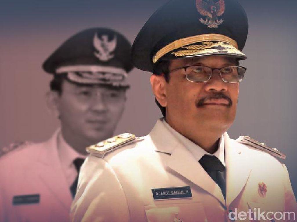 Bertemu Ahok, Djarot Bicarakan Sejumlah PR di Jakarta
