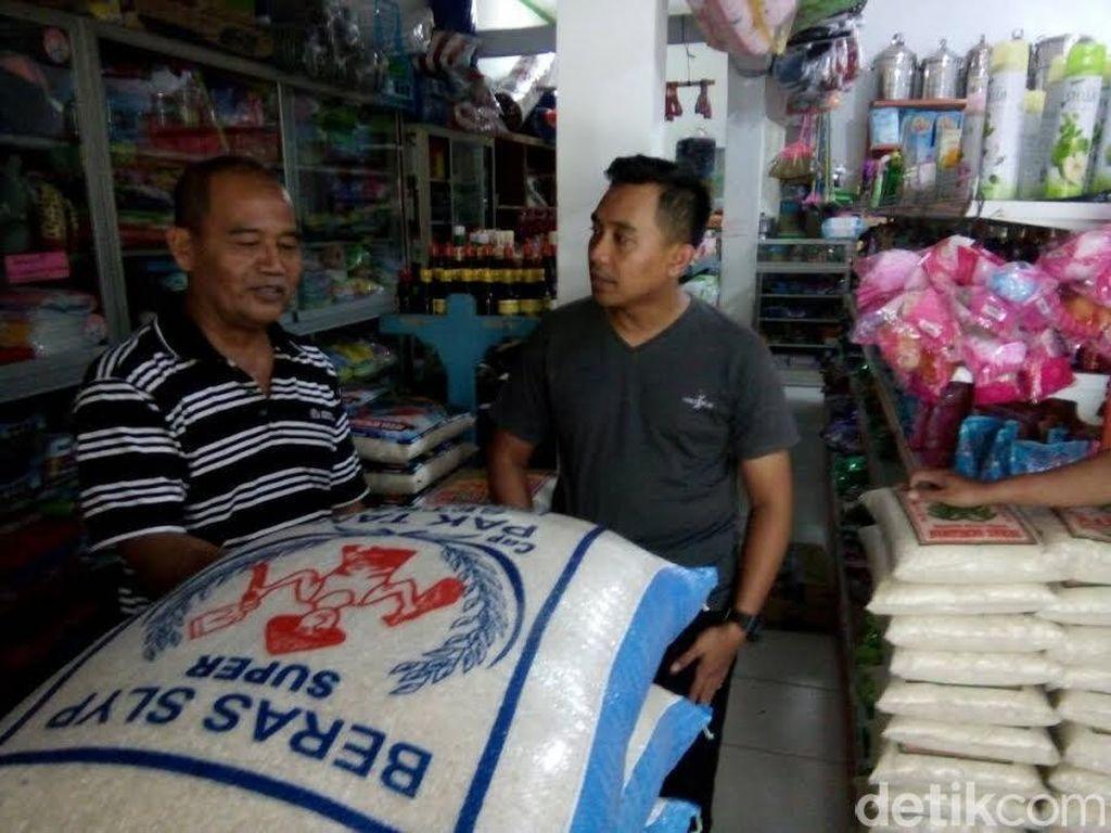 Polisi Blitar Sita Beras Mengandung Pemutih yang Beredar di Pasaran