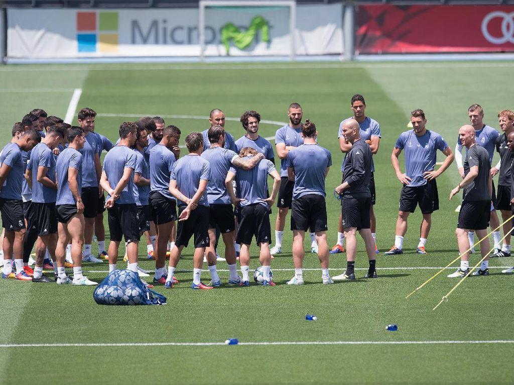 Madrid Belum Pelajari Juventus