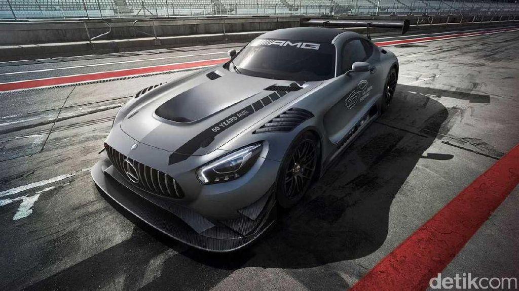Mercedes-AMG , Mobil Spesial untuk Ultah AMG Ke-50