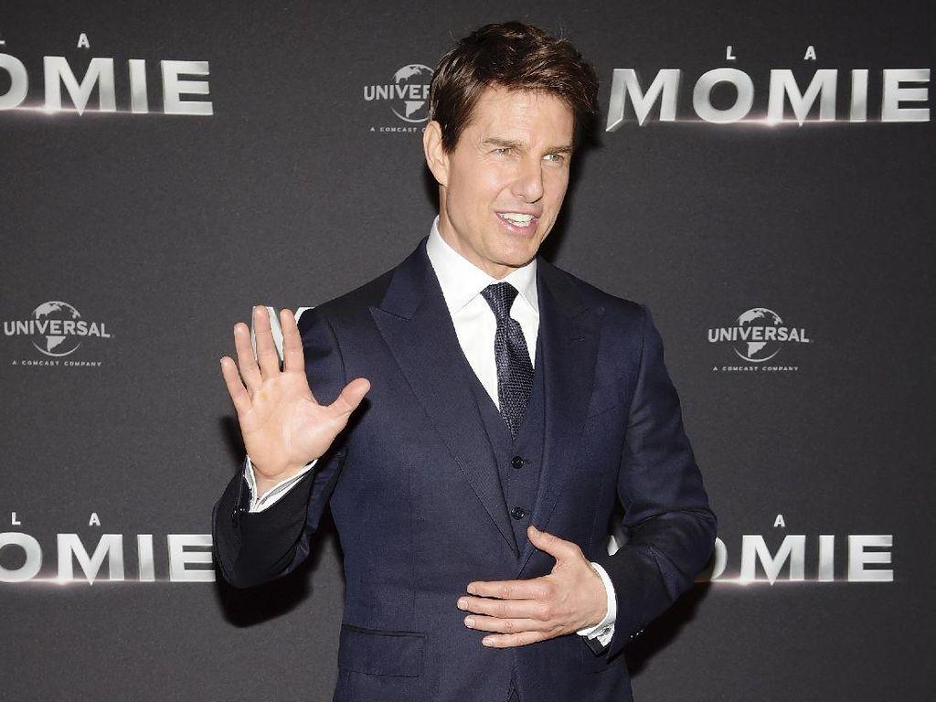 Putri Tom Cruise Tolak Tinggal Bersama Sang Aktor di Rumah Mewahnya