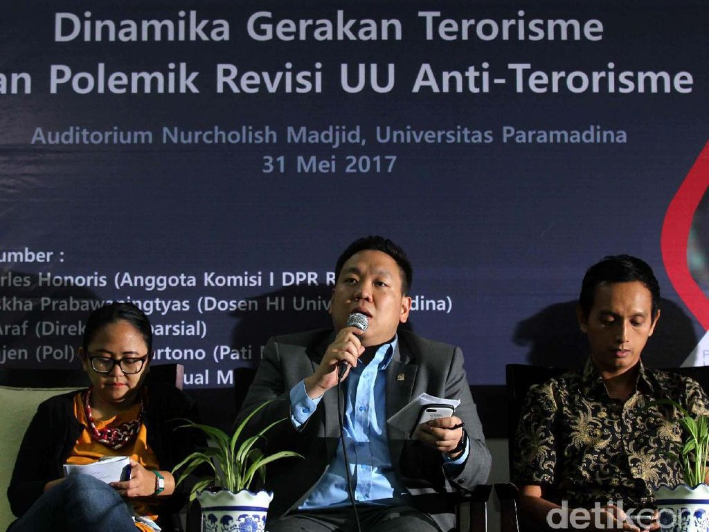 Polemik Revisi UU Anti Terorisme