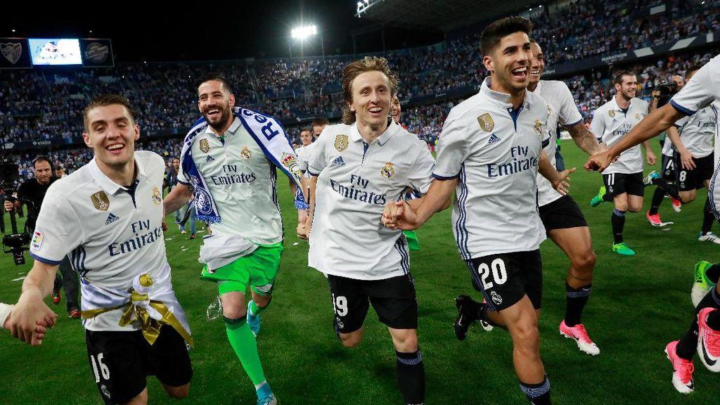 Di 2017, Madrid Dapat 1 Piala Setiap 2,4 Bulan