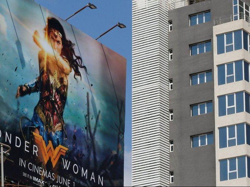 Dibintangi Aktris Israel, Film Wonder Woman Dilarang di Lebanon