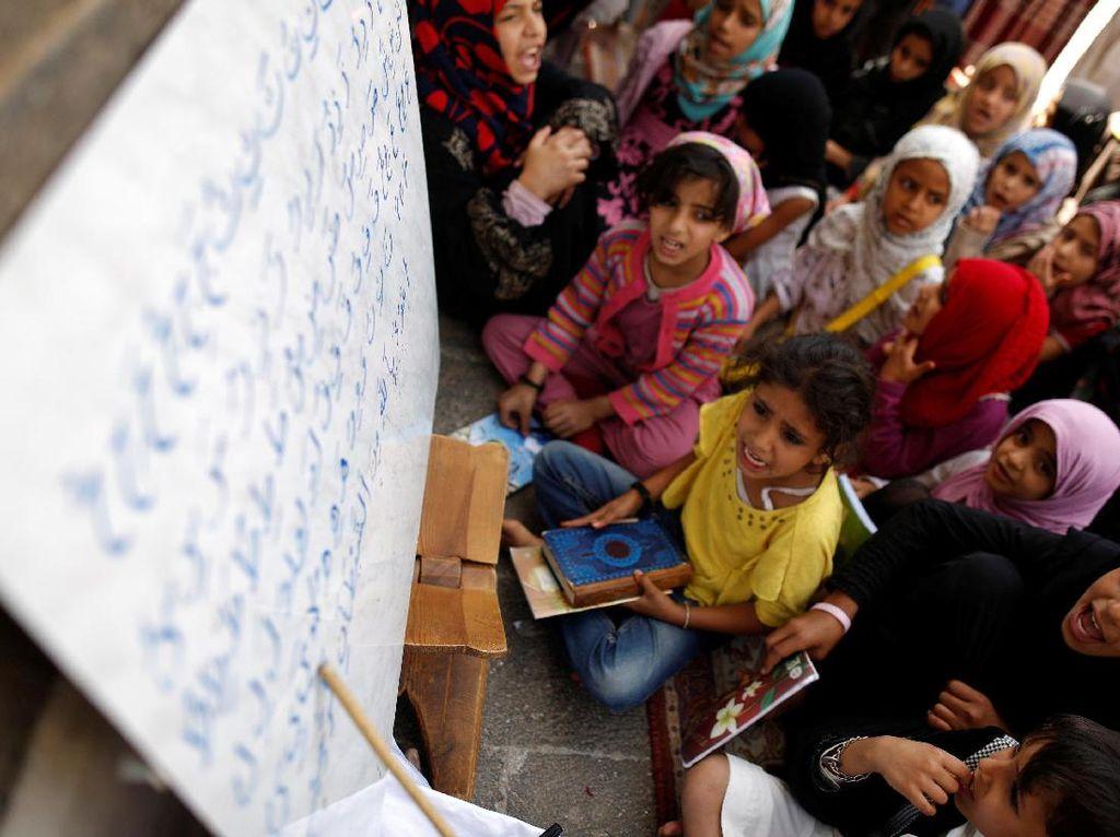 Semangat Anak-anak di Yaman untuk Membaca Alquran
