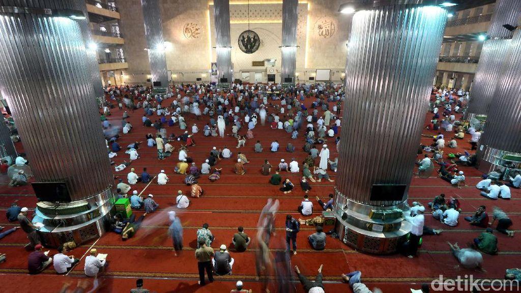 Jumat Pertama Ramadan 1438 H di Masjid Istiqlal