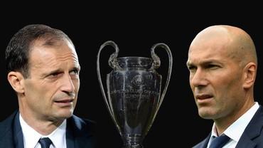 Pertarungan Taktik Juventus dan Real Madrid