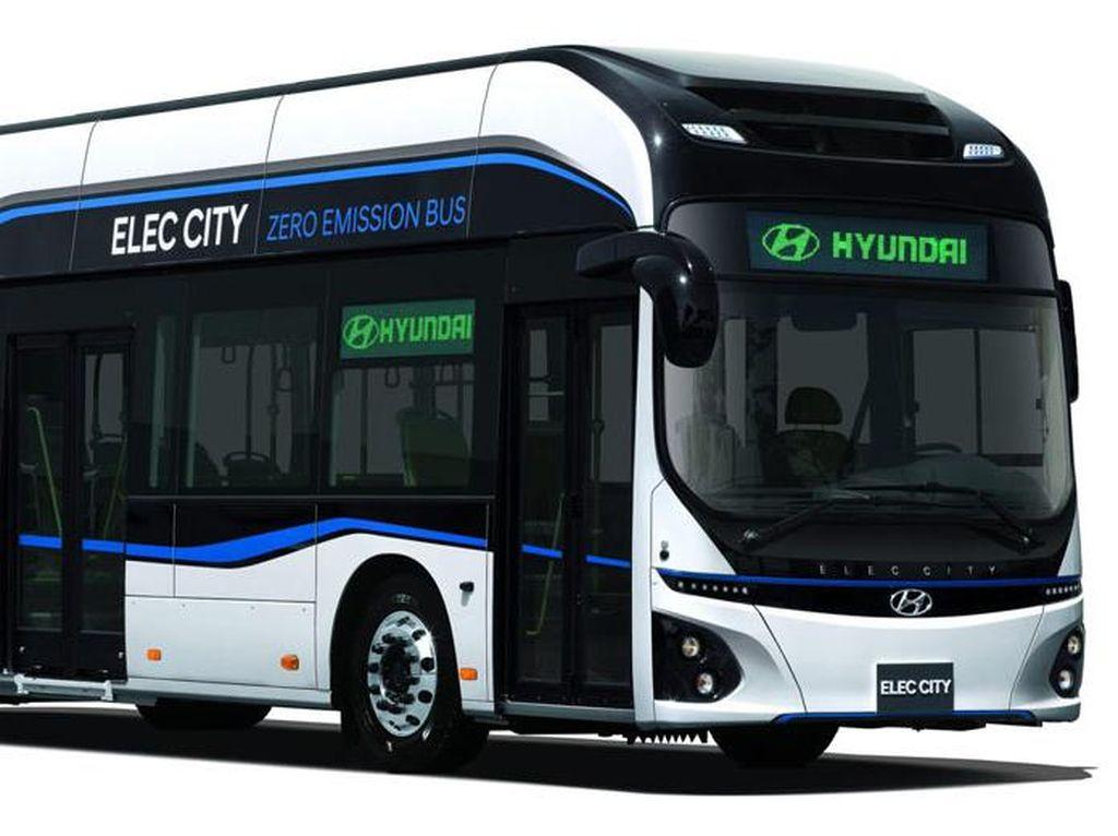 Hyundai Kenalkan Bus Listrik