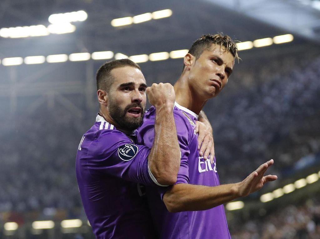 Teriakan Ronaldo Usai Cetak Gol Pertama ke Gawang Juventus