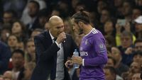 Wejangan Zidane Bikin Madrid Menggila di Babak Kedua
